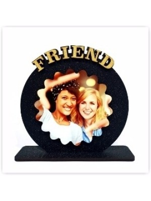 Personalized FRIEND table top  size 6*6 inches