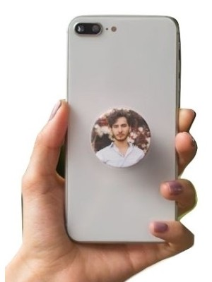 PERSONALIZED MAN MOBILE HD PRINTED POP SOCKET