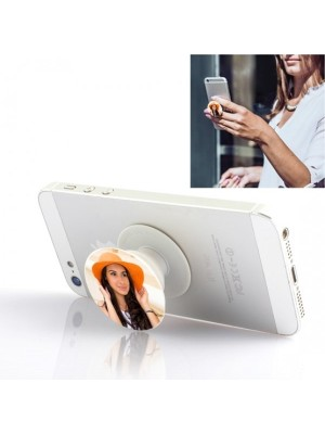 PERSONALIZED STYLISH GIRL MOBILE HD PRINTED POP SOCKET