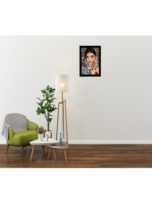 Indian Aura Personalized Wooden Photo Frame Collage for walls Decoration (A4 Size)