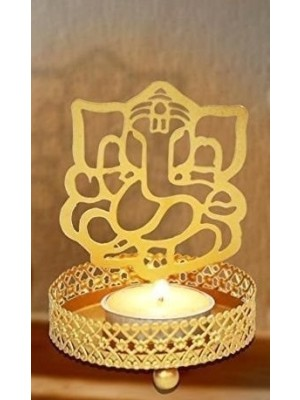 Ganesha Tea Light  Image Reflector