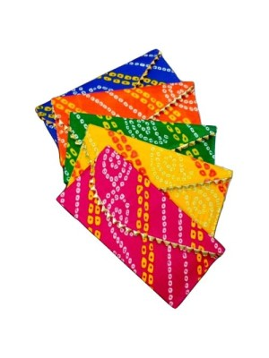 Indian Aura bandhani Money Gift Envelopes for Wedding/Marriage/Bday
