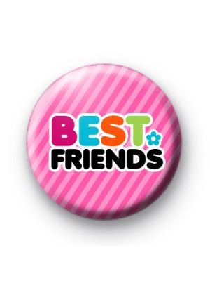 Indian Aura best friends cute Badge