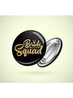 Indian Aura Bride Squad black badges