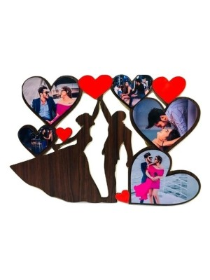 Couple with heart frame  Size 12*18 inches
