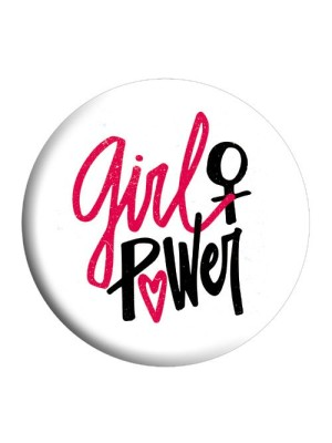 Indian Aura girl power badge