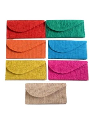 Indian Aura Jute Money Gift Envelopes for Wedding/Marriage/Bday