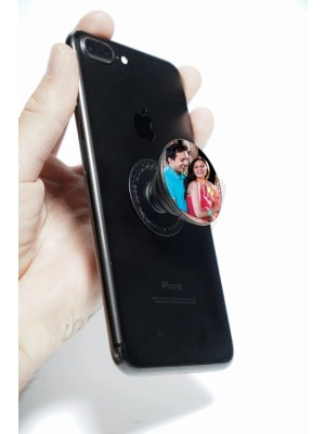 LOVE COUPLE MOBILE HD PRINTED POP SOCKET