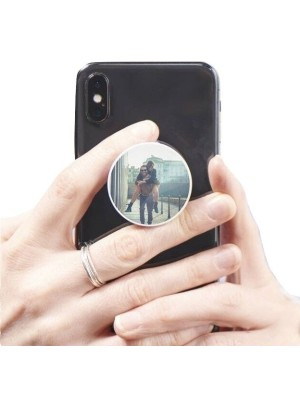VALENTINE LOVE COUPLE MOBILE HD PRINTED POP SOCKET