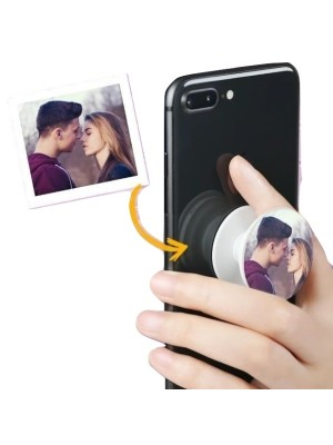 SWEET MOMENTS COUPLE MOBILE HD PRINTED POP SOCKET
