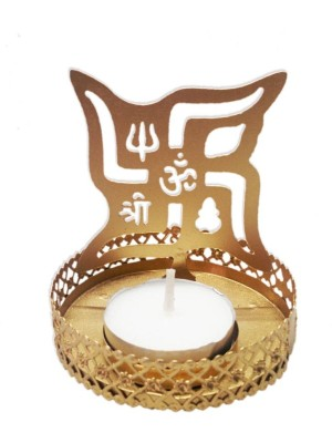 Swastika Tea Light Image Reflector
