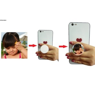 CUTE BABY MOBILE HD PRINTED POP SOCKET