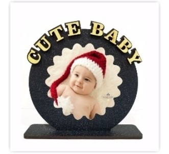Personalized CUTE BABY table top  size 6*6 inches